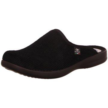 Fly Flot Komfort Schuh schwarz
