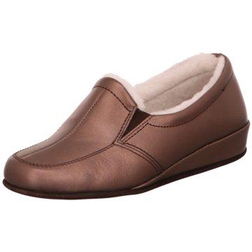 Rohde Komfort Slipper braun