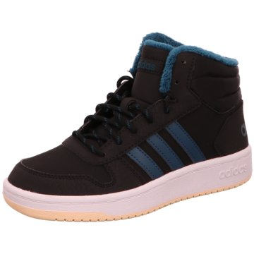 adidas Core Sneaker HighHOOPS MID 2.0 K schwarz