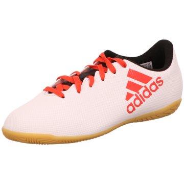 adidas Trainings- und HallenschuhX Tango 17.4 IN Hallenschuh weiß