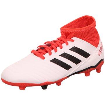 adidas FußballschuhPredator 18.3 FG Fußballschuh weiß