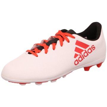 adidas FußballschuhX 17.4 FG Fußballschuh weiß