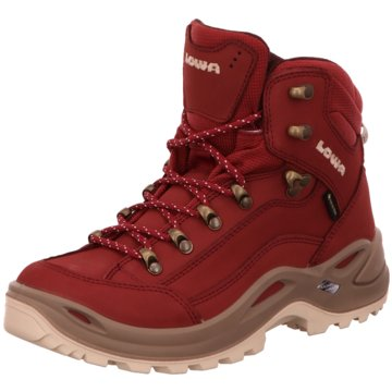 LOWA Outdoor SchuhRENEGADE GTX MID WS rot