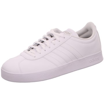 adidas Sneaker LowVL COURT 2.0 - B42314 weiß