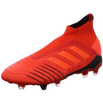 adidas Stollen-SohlePredator 19+ Boost FG rot