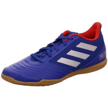 adidas Hallen-Sohle blau