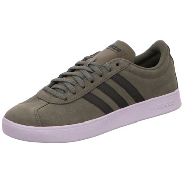 adidas Sneaker LowVL Court 2.0 Suede oliv