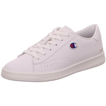 Champion Sneaker LowLow Cut Court Club Patch weiß