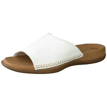 Gabor Klassische Pantolette weiß
