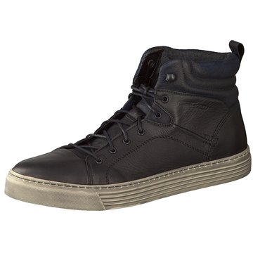 camel active Sneaker High schwarz