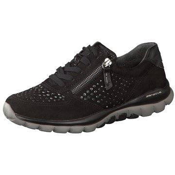 Gabor comfort Komfort SchnürschuhSneaker schwarz