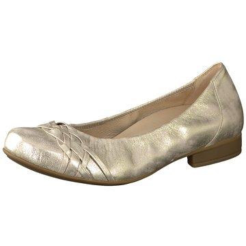 Gabor comfort Klassischer Ballerina gold