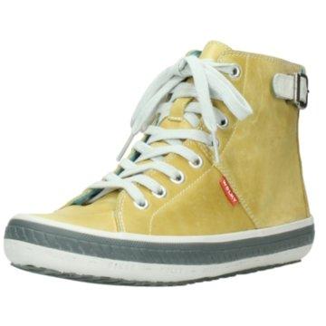 Wolky Sportlicher Schnürschuh gelb