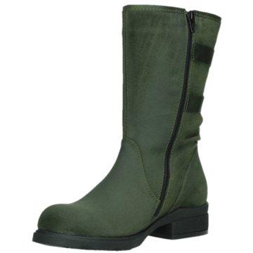 Wolky Komfort Stiefel grün