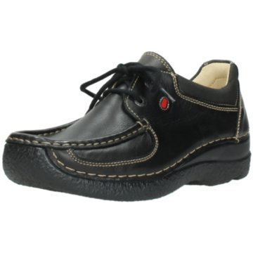 Wolky Komfort MokassinRoll-Shoe schwarz
