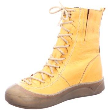 Gemini Komfort Stiefelette gelb