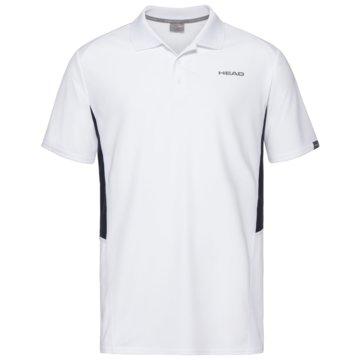 Head PoloshirtsCLUB TECH POLO SHIRT M - 811339 weiß