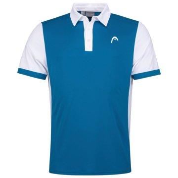 Head PoloshirtsDAVIES POLO SHIRT M - 811381 blau