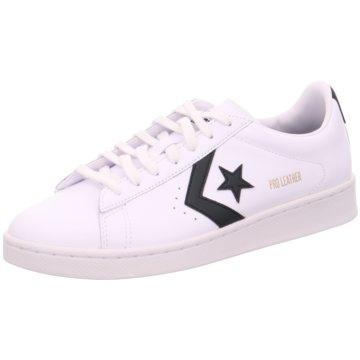 Converse Sneaker LowPro Leather Ox weiß