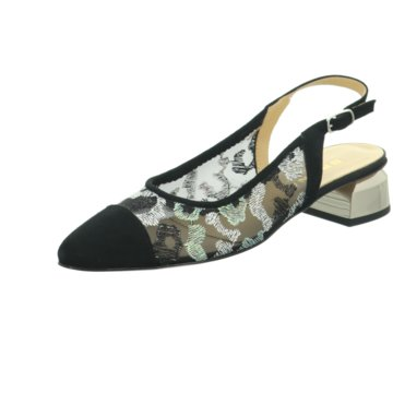 Brunate Slingpumps schwarz