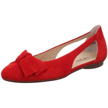 Paul Green Top Trends Ballerinas rot