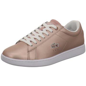 Lacoste Sneaker Low gold