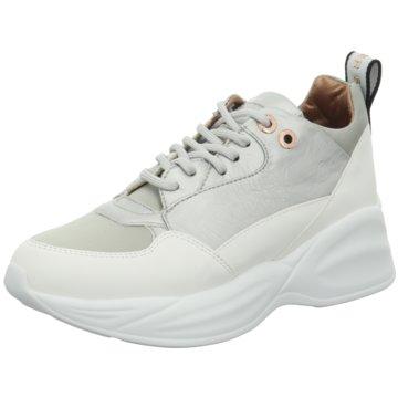 Alexander Smith Plateau Sneaker silber
