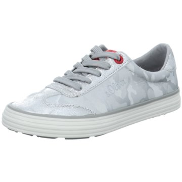 s.Oliver Sneaker Low silber