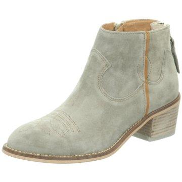 Alpe Woman Shoes Ankle Boot grün