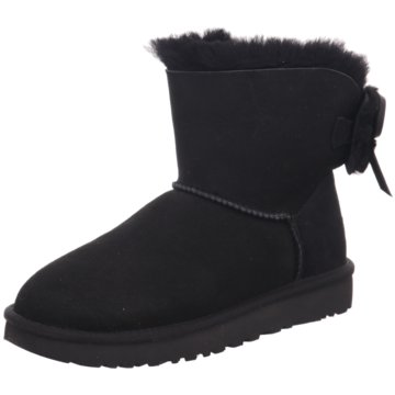 UGG Australia WinterbootCl. Double Bow Mini schwarz