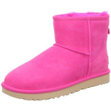 UGG Australia WinterbootClassic Mini II pink