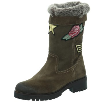 Alpe Woman Shoes WinterstiefelBiker grau