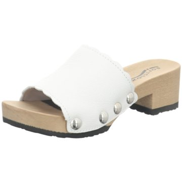 Softclox Plateau Pantolette weiß