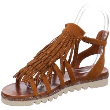 La Femme Plus Sandalette braun