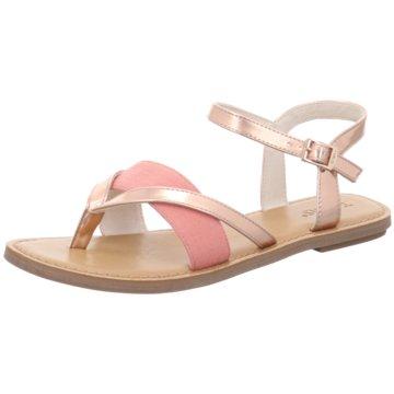 TOMS Top Trends Sandaletten gold