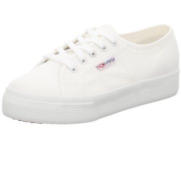 Superga Top Trends Sneaker weiß