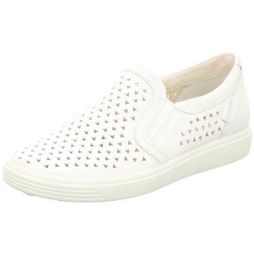 Ecco Komfort Slipper weiß
