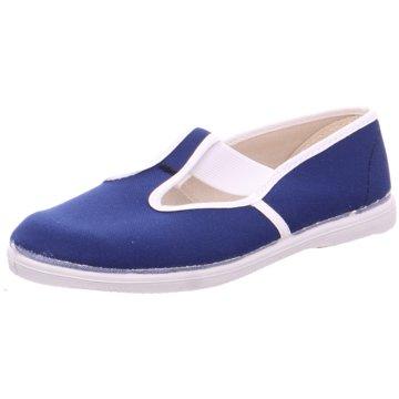 Beck Slipper blau