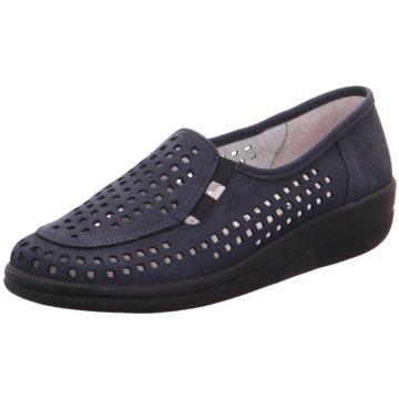 Aco Komfort Slipper blau