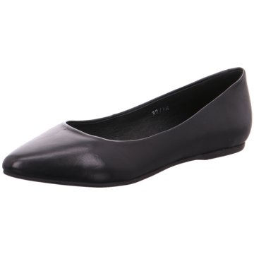 SPM Shoes & Boots Ballerina schwarz
