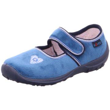 Rohde Kleinkinder Mädchen blau