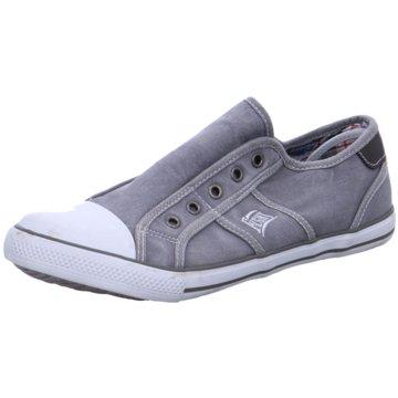Fight Sneaker Low grau