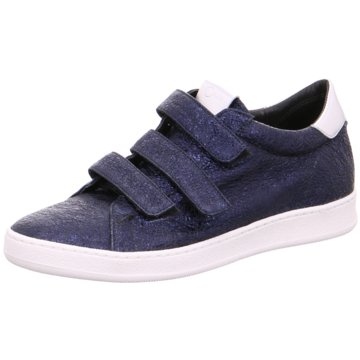 Donna Carolina Sneaker Low blau