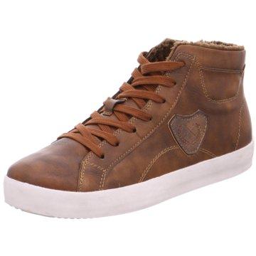 Jane Klain Sneaker High braun