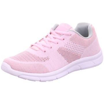 Pep Step Sportlicher Schnürschuh rosa