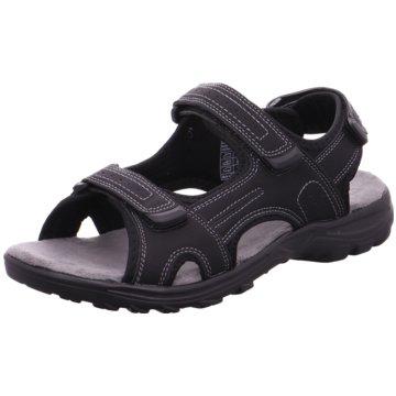 Supremo Komfort Sandale schwarz