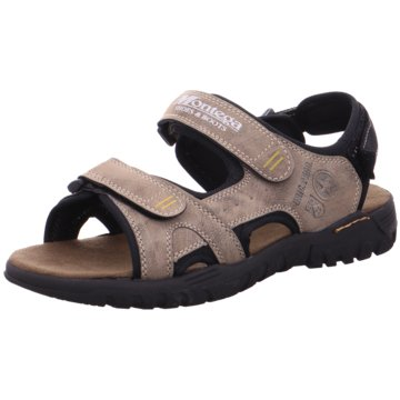 Hengst Footwear Komfort Sandale braun