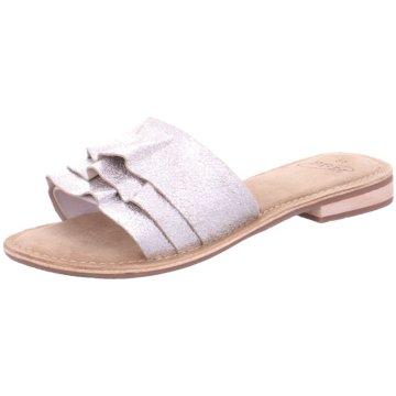 SPM Shoes & Boots Pantolette weiß