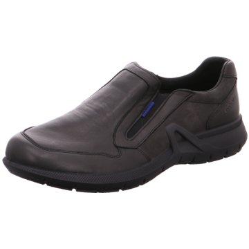 Grisport Komfort Slipper schwarz