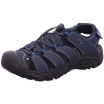 Brütting Komfort Sandale blau